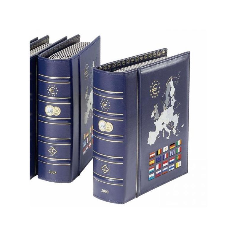 Альбом VISTA для евромонет, содержит 10 листов