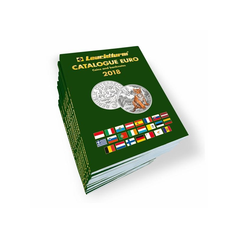 Каталог евромонет 2018.г. на английском языке