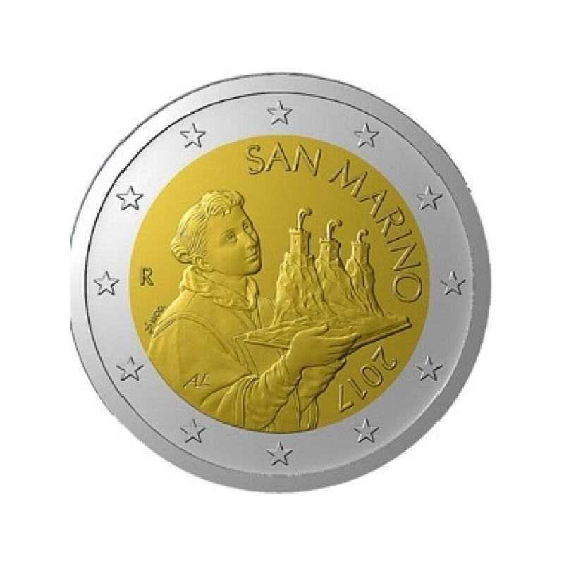 Сан - Марино 2 €  2019. года