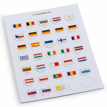 флаги Евро стран в капсулы 26 мм