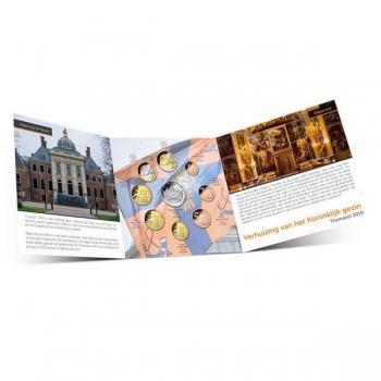 Годовой набор Евро монет Нидерланды   2019 года - комплект