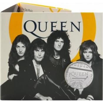Queen -Musiikkilegenda.  Iso-Britannia 5 GBP 2020 kupari-nikkeli raha