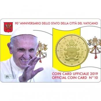 Ватикан 50 центов 2019 года