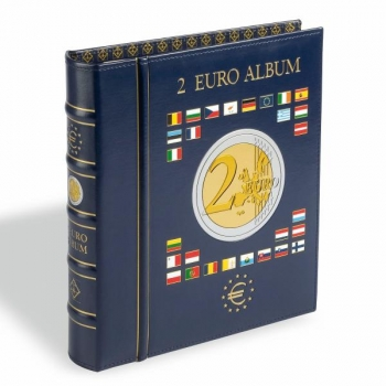 Optima  album 2€ juubelimüntide  kogumiseks