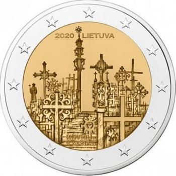Leedu 2020 a 2€ juubelimünt  - Ristimägi