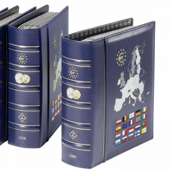 VISTA EURO annual album 2021, incl. slipcase. Blue