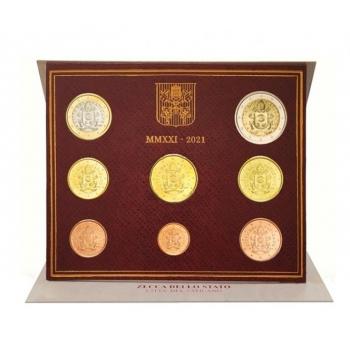 Vatikani euromündikomplekt 2021.a.