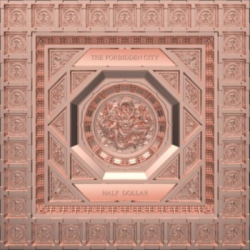 Forbidden City 4 Layer 100 g Silver Coin 10$ Solomon Islands 2020