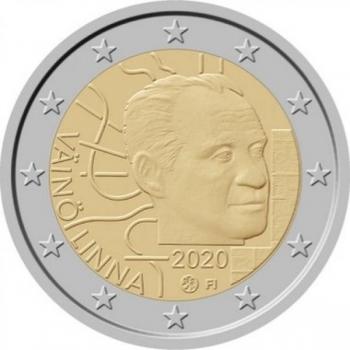 Soome 2020. a 2 € juubelimünt - Väinö Linna 100. sünniaastapäev