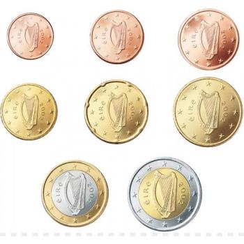 Годовой набор Евро монет Люксембурга 2017 года - комплект