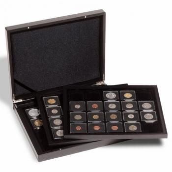 Кассета VOLTERRA TRIO de LUXE   для 60 монет в Quadrum капсуле