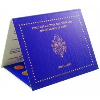 Годовой набор Евро монет Ватикан 2007 года  - комплект