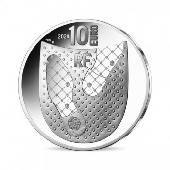 French Excellence. Berluti - France 10€ 2020 90% silver coin 22.2 g