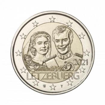 Luxemburg 2€ erikoisraha 2020 - 40 vuotta suurherttua Henrin ja suurherttuatar Maria Teresan häistä