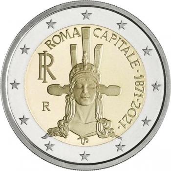 Itaalia 2021 a 2€ juubelimünt - Rooma Itaalia pealinnaks saamise 150. aastapäev
