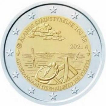 Finland 2€ commemorative coin 2021 - Aland Islands