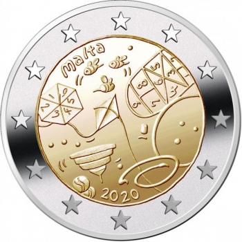 Malta 2€ erikoisraha 2020 - Unescon maailmaperintökohteet –