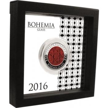 Bohemia klaas - 2untsine 99,99% hõbemünt