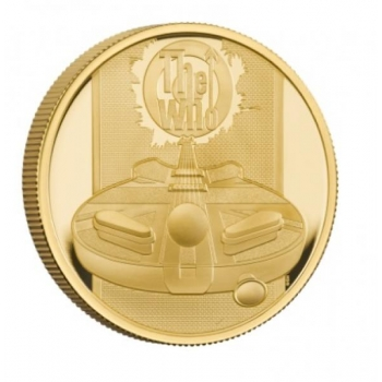 «Легенды музыки» - The Who Великобритания 100 £ 2021 г. 99,99% золотая монета. 31,1 г.
