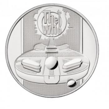 Muusika legendid - The Who - Suurbritannia 5 £ 2021.a. vask-nikkel münt