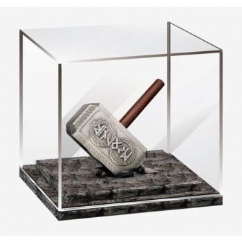 """""""THOR'S HAMMER"""". Solomon Islands 10$ 2021. 99,9% silver coin with antique bronze finish, 300 g."""