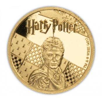 Harry Potter - Samoa 50 $ 2021.a. 99,9 % kuldmünt, 0,5 g