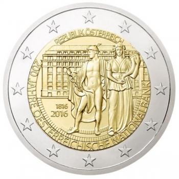 Austria 2€ commemorative coin 2016 -  200 Years of the Österreichische Nationalbank