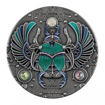 Crystal Scarabaeus 5$ Niue 2021 99,9% silver coin, 62,2 g