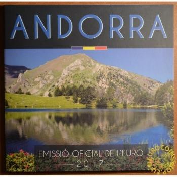 Eвро монеты Андорра 2017- комплект