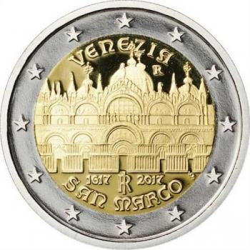 Itaalia 2017 a 2€ juubelimünt - Veneetsia Püha Markuse kiriku 400. aastapäev