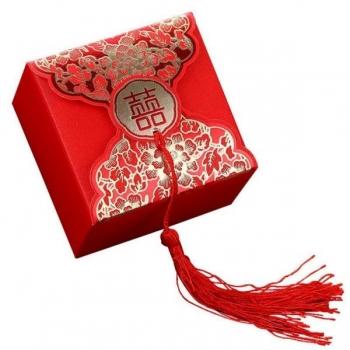 Kinkekarp punane (9x9x5)