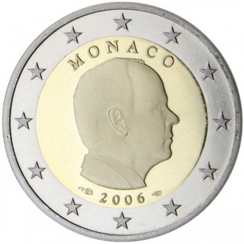Годовой набор Евро монет  Монако 2020 года - комплект