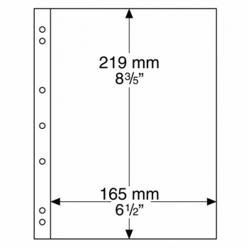 Numis paberraha leht NH1 ( 219 x 165 mm)