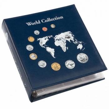 OPTIMA WORLD MONEY mündialbum 5 vahelehega, kassetiga