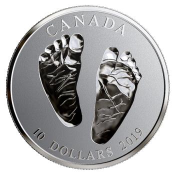 Tere tulemast maailma!  Kanada 10$ 2019.a. 99,99% hõbemünt, 15.87 g