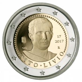 Itaalia 2017 a 2€ juubelimünt - kahe tuhande aasta möödumine Titus Liviuse surmast
