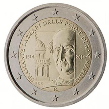 San Marino 2014 2 eur juubelimünt -Bramante