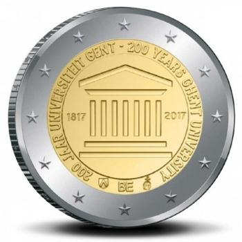 Belgia 2017.a. 2€ juubelimünt - Genti Ülikooli 200. aastapäev