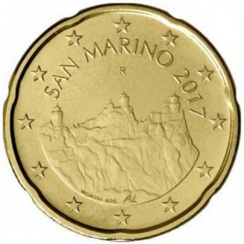 Сан - Марино 20 цент  2018. года
