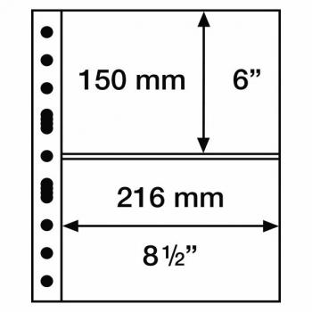 Grande postimerkki sivu 2 S (216 mm x  mm) 5 sivua paketissa