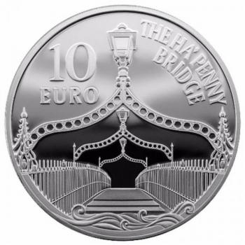 Europa 2017.a. Raua ja klaasi aeg - Iirimaa 10 €  92,5 % hõbemünt 28,28 g