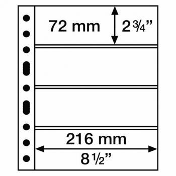 Grande 4 C Säilytyslehti  (216 x 72 mm)