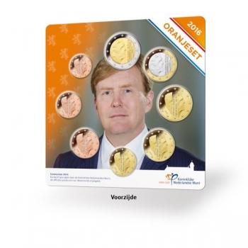 Годовой набор Евро монет Нидерланды   2016 года - комплект