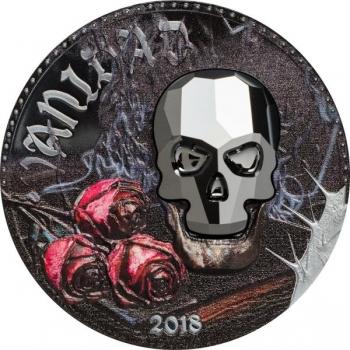 Vanidad -  2018.a. Swarovski kristalliga hõbemünt