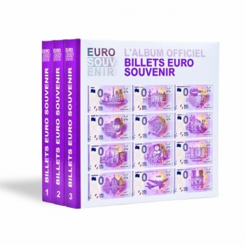 "Album for 0 Euro Souvenir"" banknotes - year 2017"