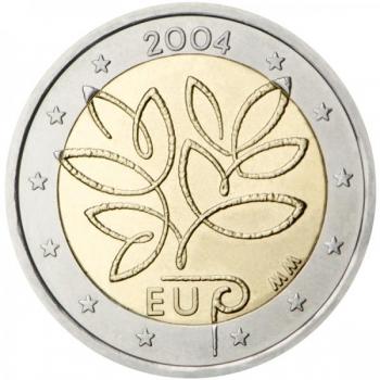 Soome 2004. a 2 € juubelimünt - Euroopa Liidu laienemine kümne uue liikmesriigi võrra