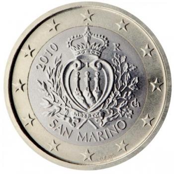 Сан - Марино 1 €  2013. года