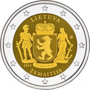 Liettua 2€ erikoisraha 2019 - Samogitian etnografinen alue Liettuassa