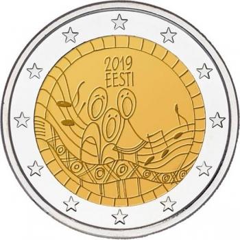 Viro 2€ erikoisraha 2019 - Laulujuhlat 150 vuotta