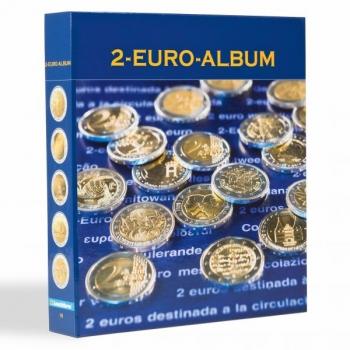 Альбом NUMIS VII часть для 2 € юбилейных монет. 2018 год